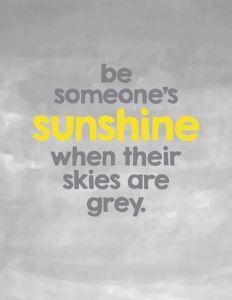 Skies are grey